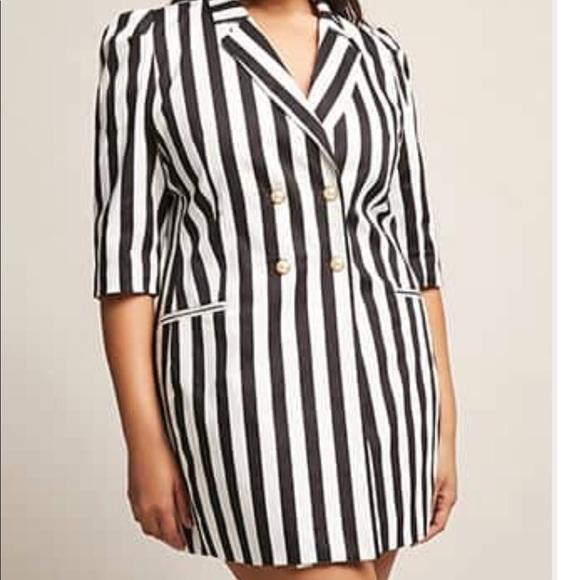 Plus size Tuxedo Dress NWT
